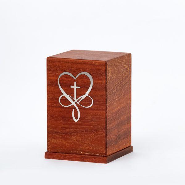 Луксозна урна за кремация Дървена мини