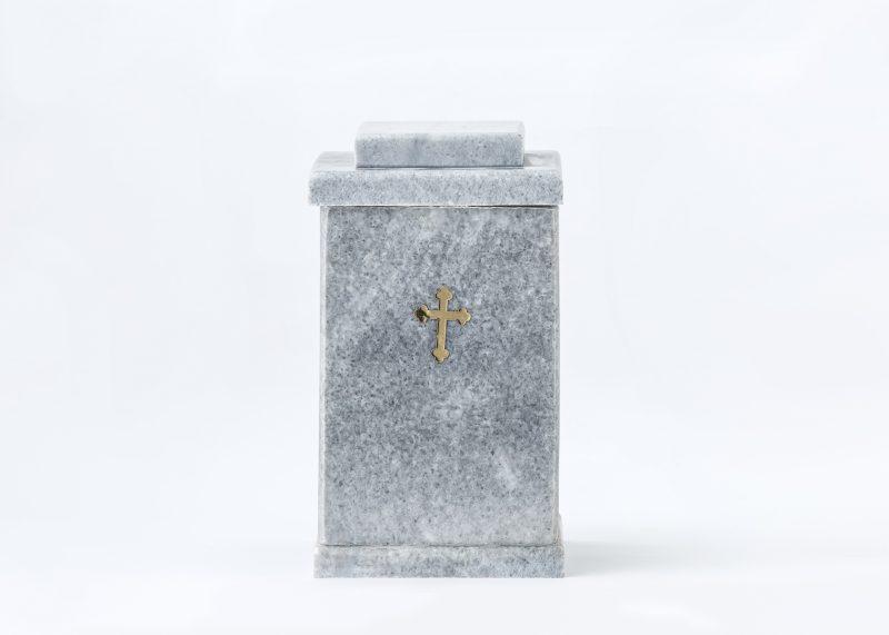 Мраморна урна за кремация Квадрат